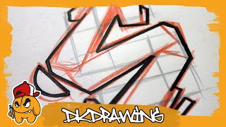 Graffiti Tutorial for beginners - How to draw & flow your graffiti letters - Letter S