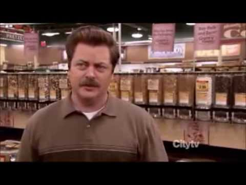 Parks and Rec - Ron Swanson: Nature is Amazing