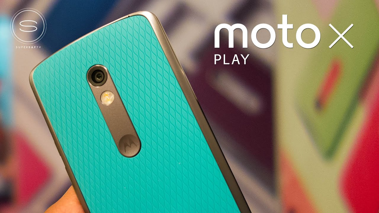 Moto x play hands on supersaf tv youtube ccuart Gallery