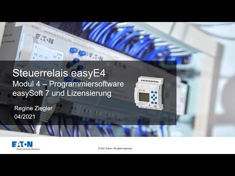Eaton easyE4: Programmiersoftware und Lizensierung