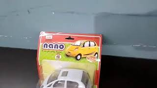 🚘 UNBOXING THE ALL NEW TATA🔥 NANO WHITE COLOUR  CAR || BY CENTY TOY CAR COLLECTION 🚘🚘