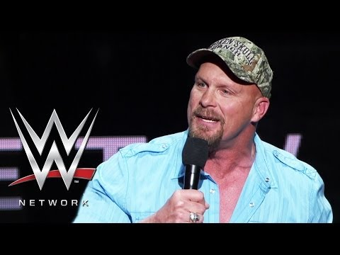 """Stone Cold"" Steve Austin talks about WWE Network's vast video ..."