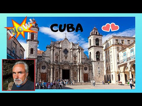 CUBA: The historic CATHEDRAL of OLD HAVANA (HABANA VIEJA), oldest in the Americas