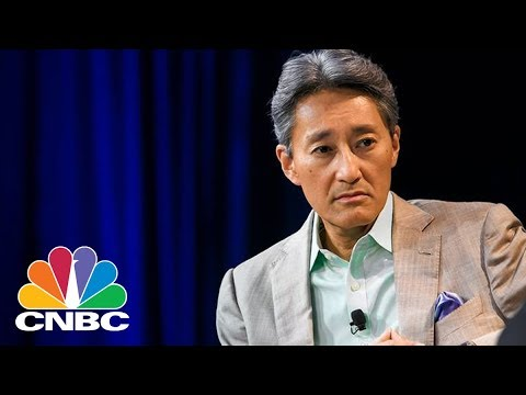 Sony CEO Kazuo Hirai Introduces New Products At CES 2018 | CNBC