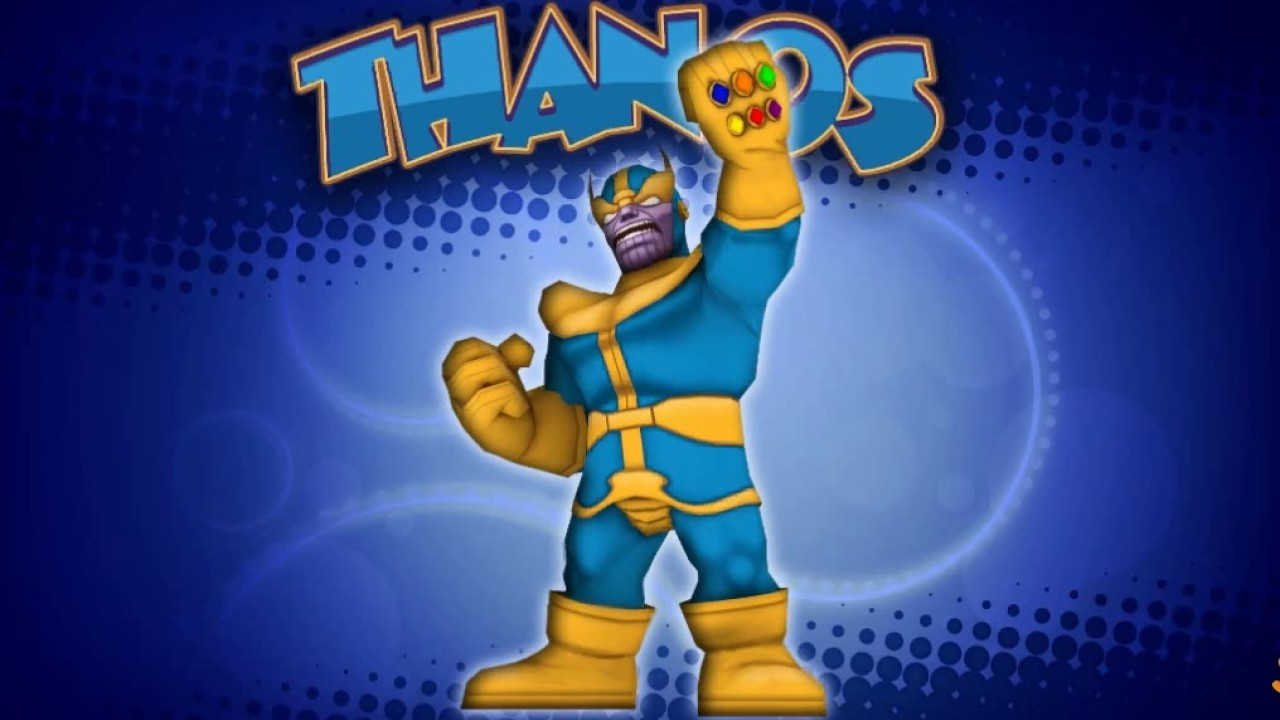 Super Hero Squad Online The Infinite Thanos Youtube