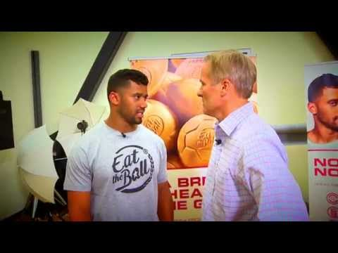 Eat the Ball live on Seattle Refined with Partner Russell Wilson of the Seattle Seahawks
