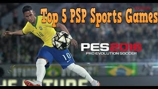 Top 5 Sports PSP Games Ever! (2018 - HD)