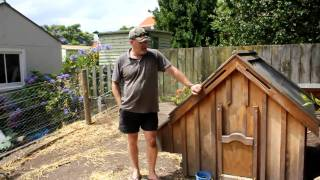 Dave Explains His Chicken Coop Design