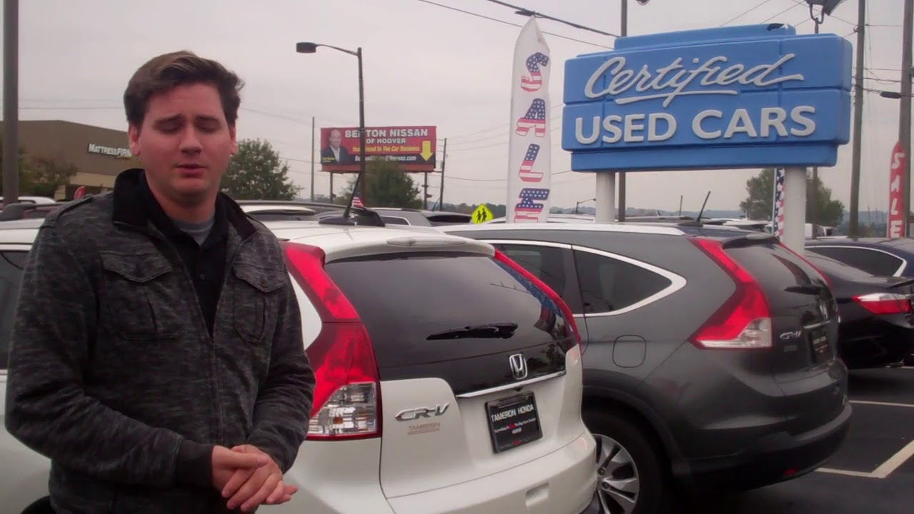 2014 Honda CRV EXL for Teresa from David Casper at Tameron Honda in