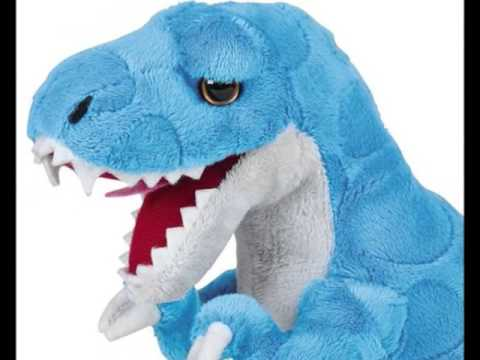 Tyrannosaurus Rex 9 Tall Plush T Rex Dinosaur Stuffed Animal For