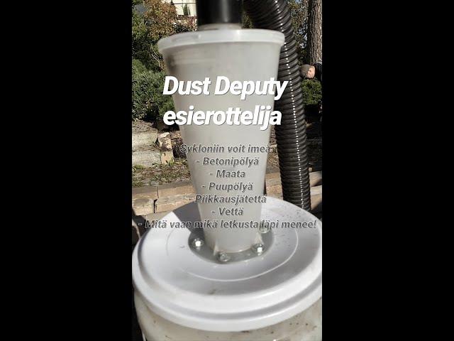 Dust Deputy Tarkkuusimurointia #shorts