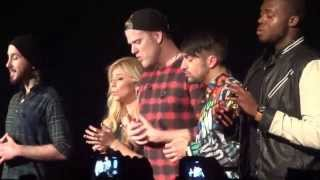 Pentatonix performs That's Christmas To Me (unplugged) at the Roxy ...