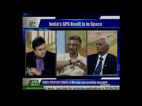 """ISRO'S MEGA SATELLITE LAUNCH"" with Dr. W Selvamurthy - Lok Sabha TV (16th April 2018)"