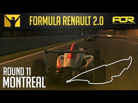 iRacing - AOR Formula Renault 2.0 Championship - Season 9 - Round 11 - Montreal