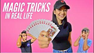 MAGIC TRICKS IN REAL LIFE FOR 24 HOURS   Rimorav Vlogs