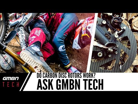 Do Carbon Disc Rotors Work? | Ask GMBN Tech Ep.24