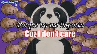 Ed Sheeran y Justin Bieber: I Don't Care. (sub//Español//Inglés)