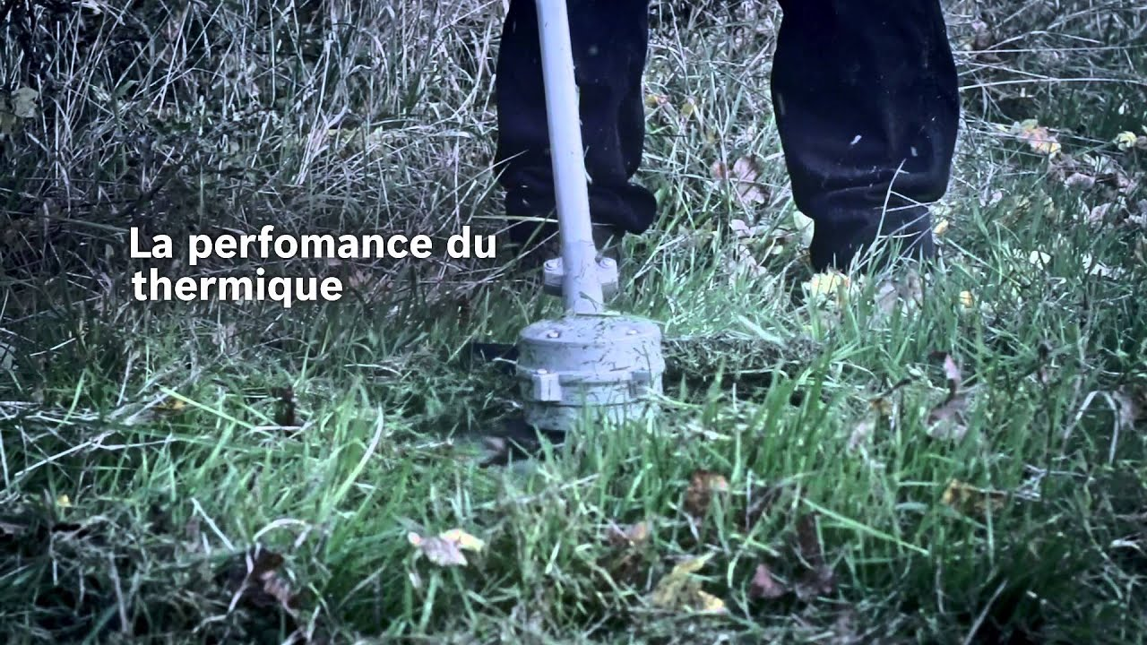 Outils de jardin sans fil professionnels Bosch – débroussailleuses ...