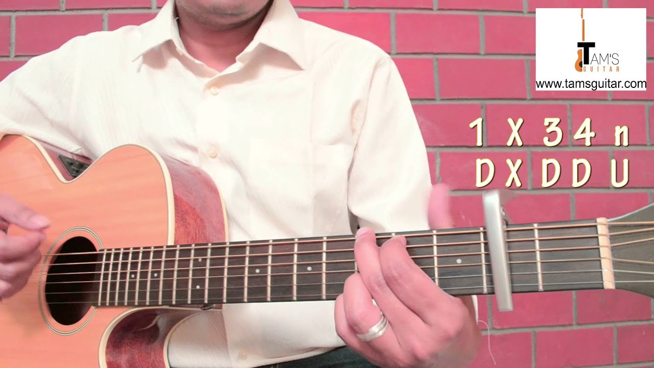 Mary Ann -Kalo Saheber Meye chords guitar lesson (www tamsguitar com)