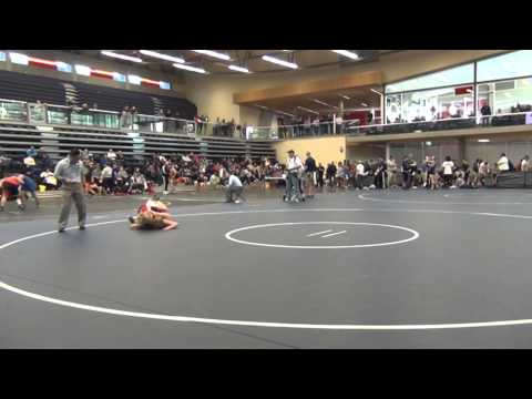 2014 SFU International: 48 kg Annie Monteith vs. Deirdre Creed