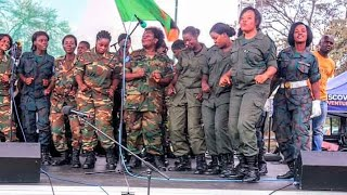 🔴 Zambia Defence Security Choir at KK's Funeral, Amazing Performance.