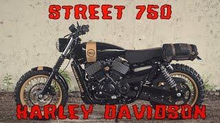 HARLEY DAVIDSON STREET 750 custom