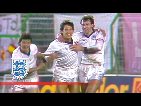 Gary Lineker scores 4 v Spain (1987) | From The Archive