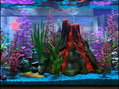 Animated Fish Tank Wallpaper Aquarium From Finding Nemo 2 Loop Youtube