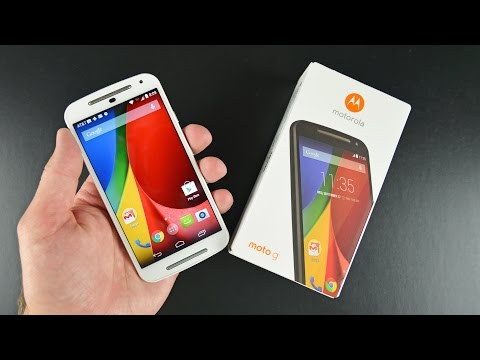 Motorola Moto G (2nd Gen): Unboxing & Review