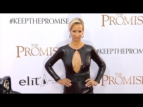 """Lady Victoria Hervey """"The Promise"""" Premiere Red Carpet"""