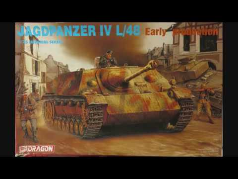 Dragon 1/35 Jagdpanzer IV L/48 early production Kit# 9021