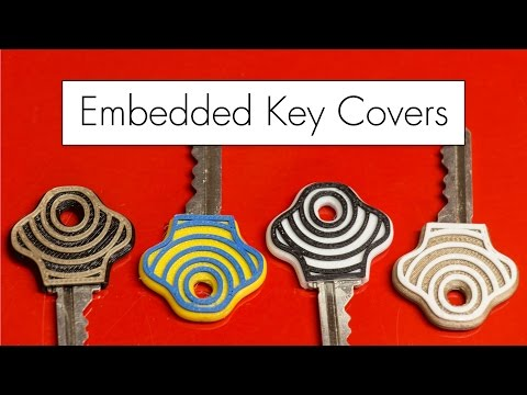 3D Printing Embedded Key Covers