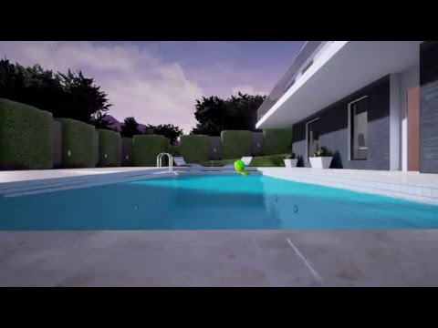 Hillside House - Virtual Reality for Architecture