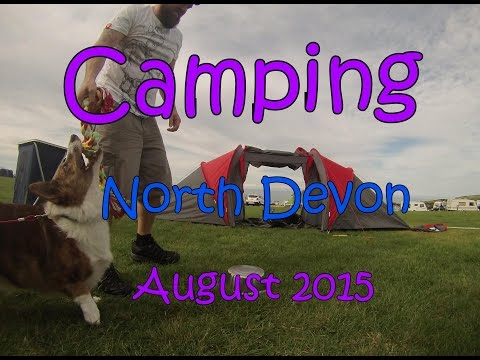 Camping|North Devon|Road Trip|Corgi|Drinking
