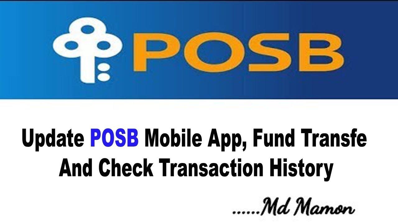 posb how to transfer money