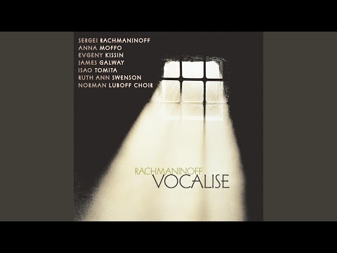 Songs, Op. 34: No. 14, Vocalise
