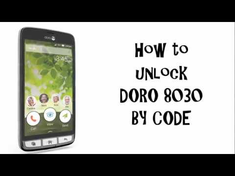 unlock code for doro 5030
