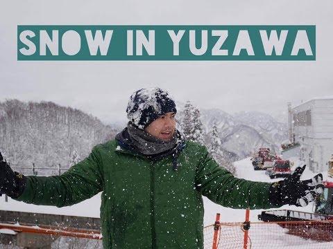 WINTER WONDERLAND NEAR TOKYO?! (Gala Yuzawa Ski Resort Niigata)