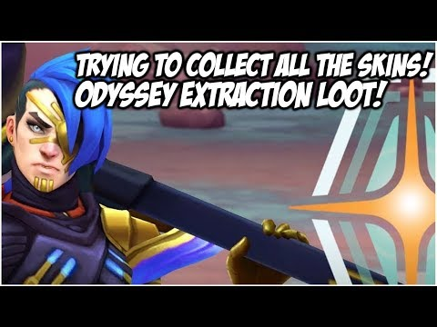 TRYING TO UNLOCK EVERYTHING! ODYSSEY EXTRACTION LOOT! | League Of Legends