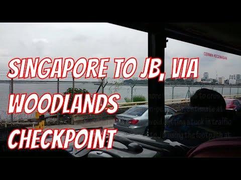 Singapore to Johor Bahru, Malaysia via Woodlands Checkpoint | S$1.00 Bus Trip From Singapore to JB