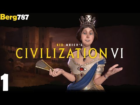 Civilization 6 | Lets Play England | Deity #1