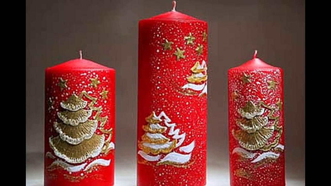 Как украсить свечи своими руками фото 465