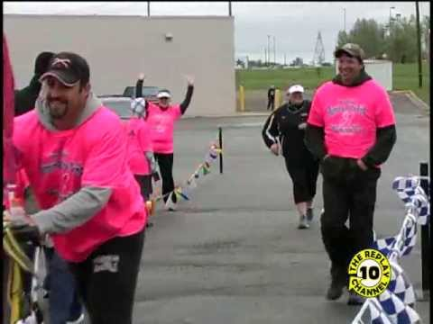 2013 Running of the Pink RM Stoudt Jamestown ND