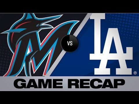 Buehler's 7 scorless leads Dodgers to sweep | Marlins-Dodgers Game Highlights 7/21/19