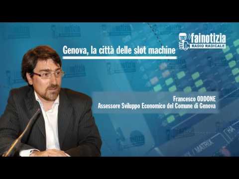 Genova, la città delle slot machine