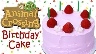 Animal Crossing Birthday Cake - Nerdy Nummies
