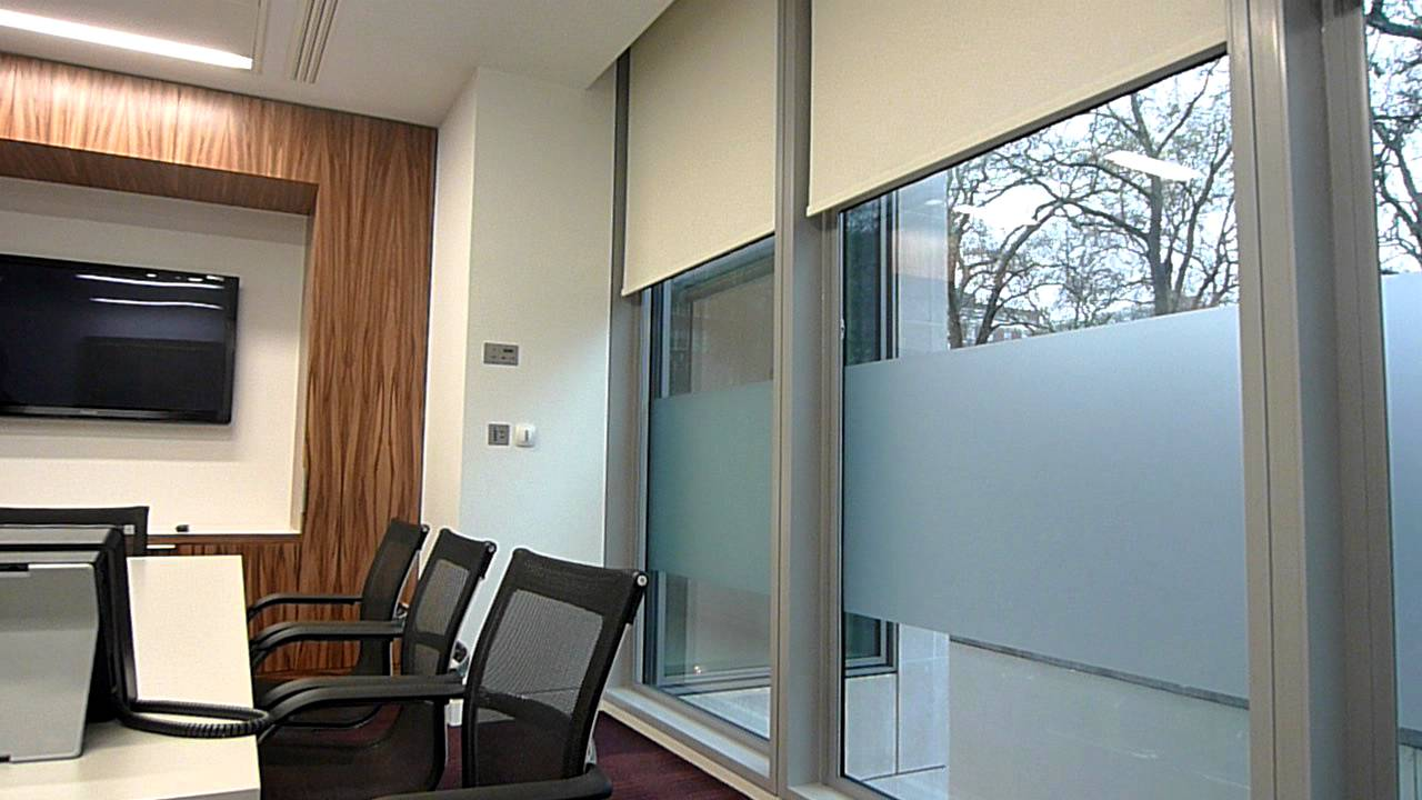 Electric Double Roller Blinds Youtube