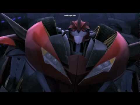 Transformers prime: Knockout and Arcee, Vampire Knight ...