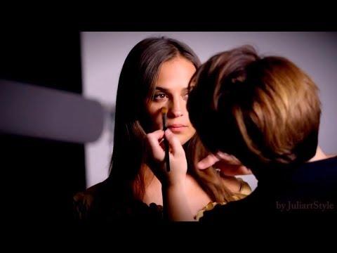 Alicia Vikander - Behind the scenes