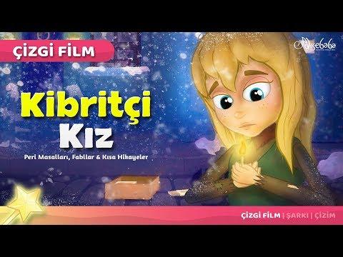 Kibritçi Kız - Çizgi Film Masal 17 - Adisebaba çizgi film masallar